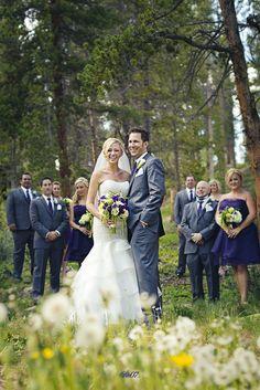 Bridal Party | Wedding | Breckenridge, CO.