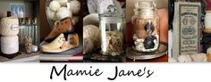 Mamie Jane's blog...she's a flea-market-antique-mall-thrift-store shopper and junker with great ideas for transforming the rewards