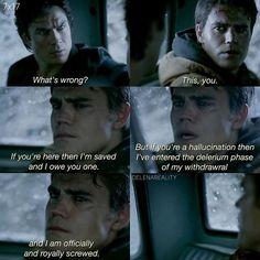 [7.17] - CAN I DIE? Stefan - I feel so sad for him in this episode - {#paulwesley #stefansalvatore #iansomerhalder #damonsalvatore #defan #otp #brotp #friendship #brothers #salvatore #tvd #tvds7 #vampires #vampirediaries #instaedit #instalike #l4l #f4f #s4s @paulvedere @iansomerhalder }