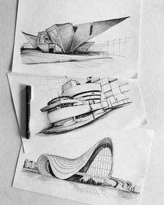Interesting Find A Career In Architecture Ideas. Admirable Find A Career In Architecture Ideas. Architecture Drawing Sketchbooks, Architecture Concept Drawings, Organic Architecture, Art And Architecture, Parametric Architecture, Architecture Diagrams, Sketches Arquitectura, Portfolio D'architecture, Architecture Organique