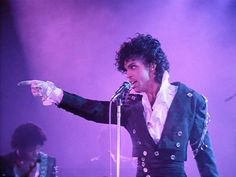 """Prince in the movie """"Purple Rain""""-Thanks Prince for being my 1st crush"""
