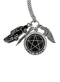 HOTTOPIC.COM - Supernatural Multi Charm Necklace