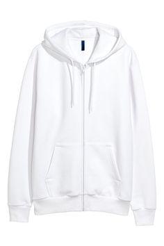 Chaqueta con capucha - Blanco - HOMBRE  8afc3ab99