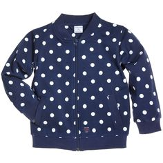 Polarn O Pyret DOTTED TRACK JACKET (CHILD)