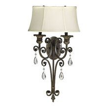 View the Quorum International 5532-2 Two Light Wall Sconce from the Fulton Collection at LightingDirect.com.
