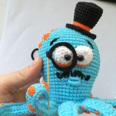 Crochet OCTOPUS Pattern, amigurumi sea animals