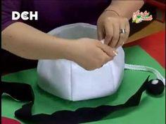 Canasta Navideña - Bazar Anastacia Diy Crafts Jewelry, Christmas Diy, Mary, Ideas, Gift Crafts, Christmas Crafts, Christmas Decor, Baby Dolls, Scrappy Quilts