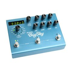 Strymon Big Sky Reverb Effects Pedal. #strymon #guitarpedal #effectpedal #reverbpedal