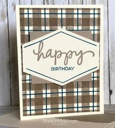 Stampin' Up- Truly Tailored
