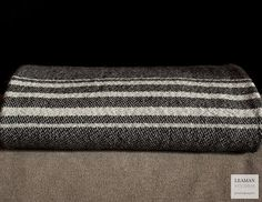 Something Special: Handwoven Wool Blanket on Etsy, $545.00