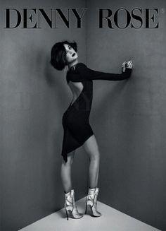 El negro protagonista de la nueva colección de vestidos de fiesta de Denny Rose, en Ottro.com