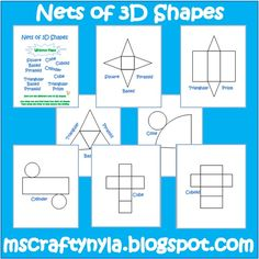 Simply Centers: Free Geometry Foldable Nets!
