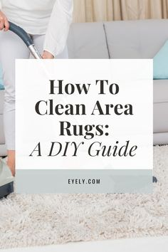 Deep cleaning your area rugs not only makes them look and smell fresh, it protects them from wear. Dirt and grit trapped in the rug actually wears down the fibers from within. While professional deep cleaning is ideal, you can also clean and maintain your area rugs yourself. Small area rugs are the easiest to clean, but even large rugs can be cleaned at home. Be sure to check the care instructions on the rug's tag for specific recommendations. Then follow this cleaning guide.