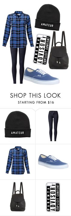 """Normal Day"" by virginia-hildebrand ❤ liked on Polyvore featuring Equipment, Vans, rag & bone and CellPowerCases"