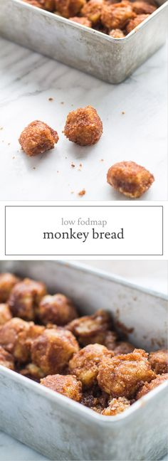 Low Fodmap Monkey Bread is a kid-friendly pull-apart bread dusted with sweet cinnamon sugar - a delicious treat for a special breakfast or brunch!