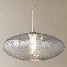 Buy John Lewis Tabitha Mercury Glass Pendant Online at johnlewis.com