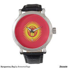 Kyrgyzstan, flag watch