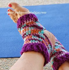 When you're doing yoga, you need the grip of your heels and toes, but you don't need cold feet! That's when this ingenious Yoga Crochet Socks pattern will be extremely useful.