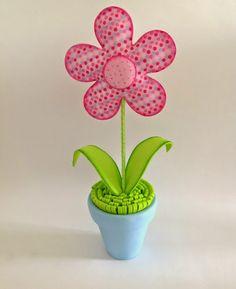 Jarro de flor de EVA