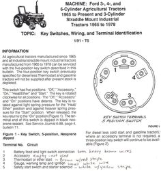 tractor light switch wiring diagram - Google Search | Tractor lights, Light  switch wiring, TractorsPinterest