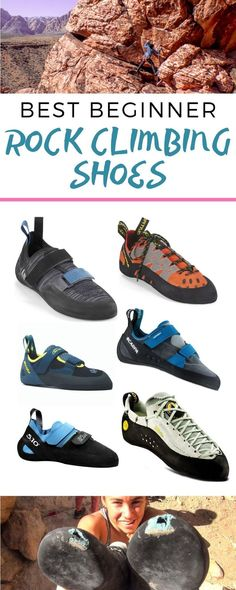 Best Beginner Climbing Shoes Complete guide to choosing rock climbing shoes for indoor or outdoor rock climbing. Complete guide to choosing rock climbing shoes for indoor or outdoor rock climbing. Rock Climbing Pants, Rock Climbing Equipment, Rock Climbing Training, Rock Climbing Workout, Climbing Outfits, Climbing Girl, Climbing Clothes, Climbing Chalk, Rock Chic