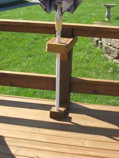 Image Result For How To Attach Patio Umbrella To Fence Small Backyard Decks Deck Designs Backyard Decks Backyard