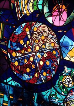 "Stunning Colors Glow Inside 7-Foot Stained Glass Dome called ""Wholeo Dome"" by Carol Geary, aka Caroling - My Modern Metropolis"