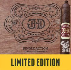 Nashville, Tennessee is home not only to boutique cigar brand Crowned Heads, but once was the city that outlaw Jesse James called home! Of course, he didn't go by that name - the man was seeking a peaceful, family life, believe it or not, and was known by the alias of J.D. Howard…     This was the inspiration behind Crowned Heads' third cigar release in their core lineup, which became a fan favorite upon its release in 2013. Now, brand runn