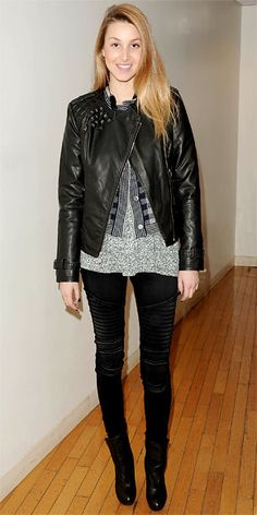 Whitney Port wears James Jeans Moto - Click now to steal her style!