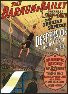 From a Dover Publisher book of Circus posters.