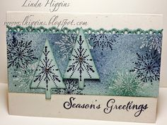 Many Merry Stars stamp set in blues