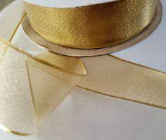 1 x 10 yds Gold Metallic Ribbon for Weddings Gold Mesh Ribbon for Graduation Party Ribbon for bows Metallic Gold Ribbon for Bouquets Mesh Ribbon, Diy Ribbon, Ribbon Wands, Ribbon Crafts, Ribbon Bows, Diy Crafts, Wedding Wands, Ribbon Wedding, Wedding Favors