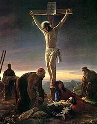 The Crucifixion   (Painted by Carl Heinrich Bloch)
