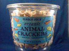 snacks : animal crackers