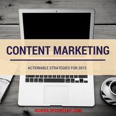 Planning your content marketing strategy for 2015? Here are 5 things you need to include in your checklist! Read more: http://www.schoolofcontent.com/content-marketing-strategy-2015/ #contentmarketing