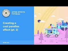 After Effects Tutorial - Parallax effect - YouTube