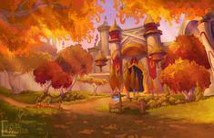 Silvermoon World of Warcraft Art Board ^^ // Blizzard // wow // // Digital // Geek // Fantasy Places, Fantasy World, Fantasy Art, Final Fantasy, Wow Of Warcraft, Warcraft Art, War Craft, Blood Elf, Fantasy Setting