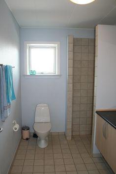 Badeværelse med klinker og gulvvarme