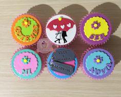 Cupcakes de amor. Cupcakes de novios. Cupcakes propuesta. Cupcakes con mensaje