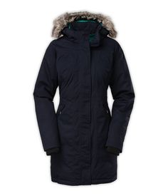 The North Face Women's Jackets & Vests Insulated WOMEN'S ARCTIC DOWN PARKA (in olive though)