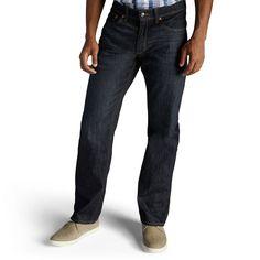 6ab25666 Men's Lee Premium Select Regular Straight Leg Jeans, Size: 34X36, Med Blue