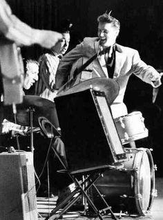 Elvis Presley , Dj Fontana, Bill Black