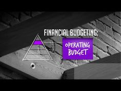 The Art of Startup Finance: Financial Budgeting – Your Operating Budget Video analysis – Finance tips, saving money, budgeting planner Financial Budget, Financial Planning, Home Budget, Budget Planner, Make More Money, Finance Tips, Stock Market, Saving Money, Budgeting