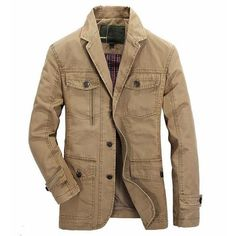 c021226a6e20 Brand autumn spring cotton jackets. Botas JeepMens FallMens Outdoor  JacketsCasual ...