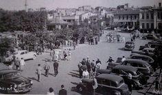 1950lerde Kadıköy'de bir dolmuş durağı #istanlook