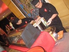 Vinwood Caters Live Sushi Station