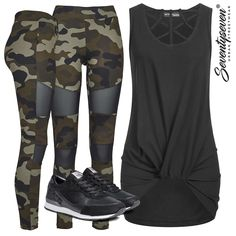 Military Look - Dein Style? #77onlineshop.de #musthave #outfit #damenoutfit #ootd #springoutfit #styleboom #camououtfit #camouflage  #camo #sportswear #activewear