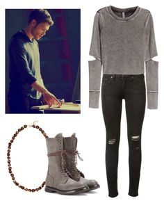 Klaus Mikaelson - The originals / tvd / the vampire diaries by shadyannon on Polyvore featuring H&M, rag & bone, Rick Owens, Vineyard Vines, women's clothing, women's fashion, women, female, woman and misses