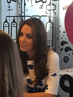 """Rebecca English on Twitter: """"William and Kate now chatting to teenagers at @Youthscape"""