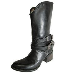 Freebird by Steven Womens Pikes MidCalf Leather Boot Shoe Black US 7 ** Want to know more, click on the image.(This is an Amazon affiliate link and I receive a commission for the sales)
